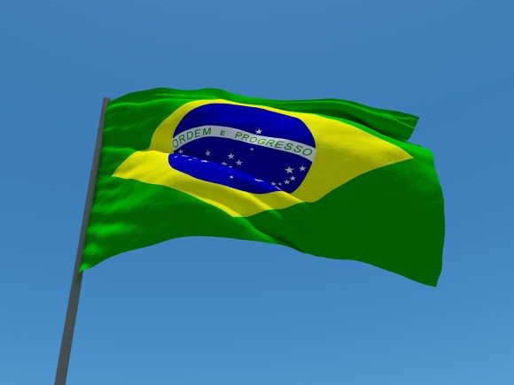 Vlajka Brazílie, foto: tchampa/sxc.hu