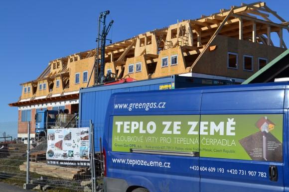 Teplo země bude nyní vytápět nové chaty v Beskydech. foto: Josef Baďura