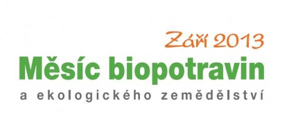 Zaří 2013 se opět, již podeváté, stává měsícem biopotravin