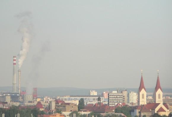 Plzeň. Téměř třetina obyvatel evropských měst je vystavena vyšším emisím, než jsou limity EU. foto: Martin Šírková/Ekobydlení.eu