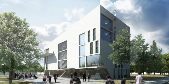 Základní umělecká škola v Holicích na Pardubicku je postavena v pasivním standardu