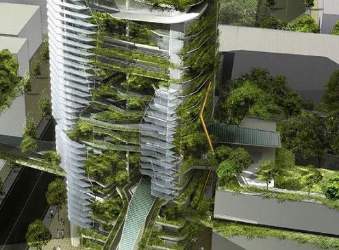 Architektura ve světě: Singapur - EDITT Tower