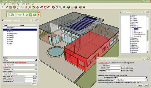 Google SketchUp plug-in