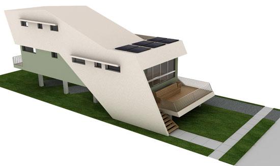Graft Architects - ekologické domy 21. století