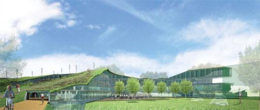 ekologické kancelářské budovy - Green Office 2015 od nizozemského architektonického studia RAU
