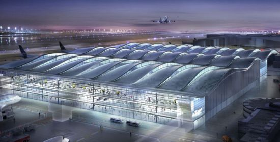 Londýn - letiště Heathrow - Terminál 2