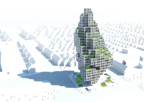 Kodaň - Sky Village