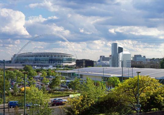 Londýn - Wembley - studentské koleje
