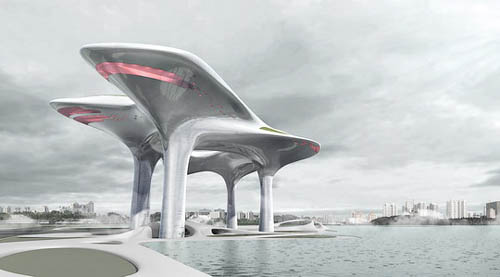 architektura - MAD Architects - muzeum v oblacích