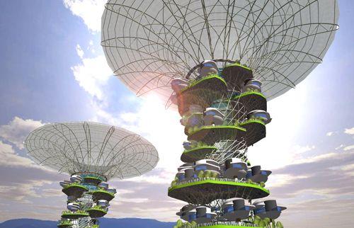 architektura - města budoucnosti - kuala lumpur