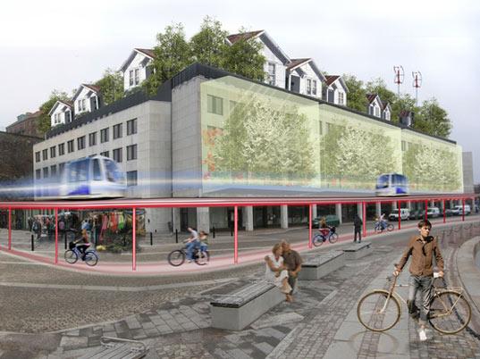 architektura - města budoucnosti - švédsko - gothenburg