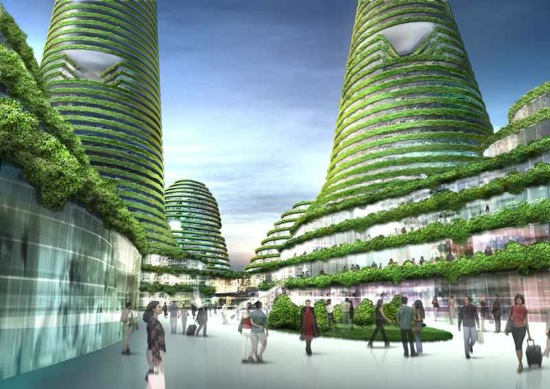 Gwanggyo - město budoucnosti od MVRDV, které vyroste v Jižní Koreji