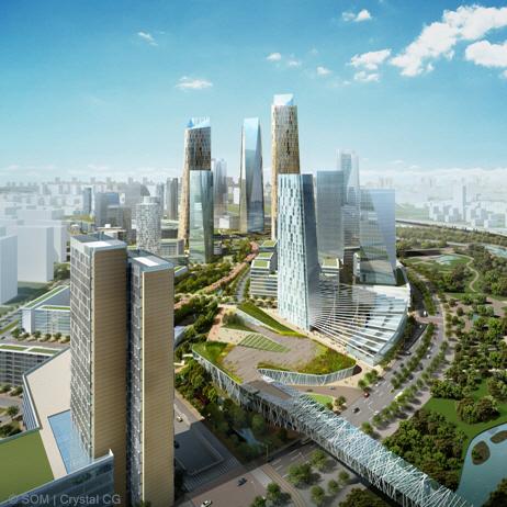architektura - SOM - Čína