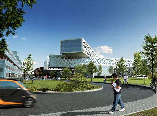 statoilhydro - kancelářské budovy