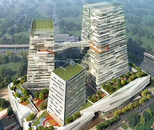 Architektura: taiwanské mrakodrapy