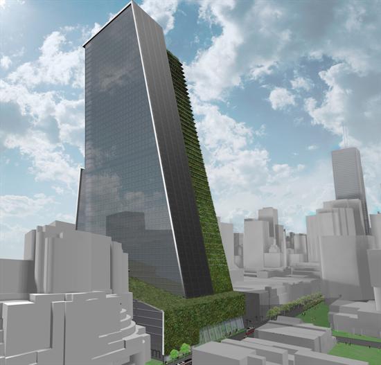 vertikální farma architekta Gordona Graffa