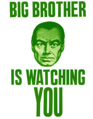 Big GREEN Brother is Watching You - Velký zelený bratr tě sleduje!