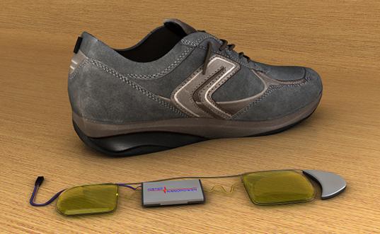 bota vyrábějící elektrickou energii