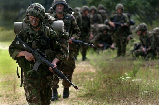 britská armáda - vojáci