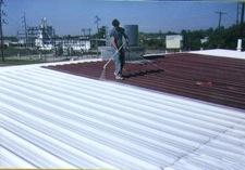 bílá střecha