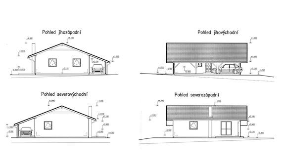 bydlení ekologický domek ekopanely pohledy