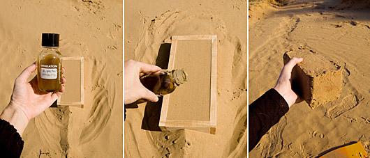 cihla z písku