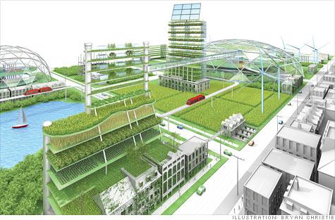 Detroit - městská farma