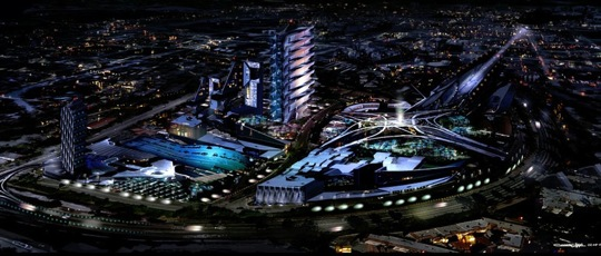 Los Angeles v roce 2050