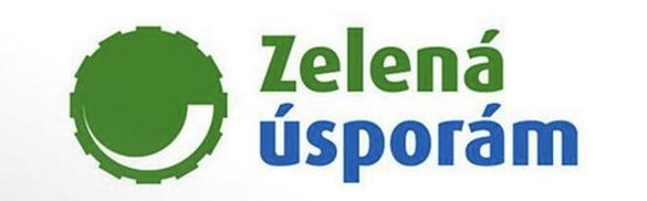 Dotace Zelená úsporám - logo