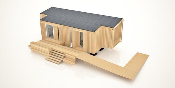 dřevostavby - Luukku šetrný dům - Solární desetiboj