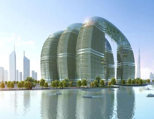 Dubaj - Jumeira gardens