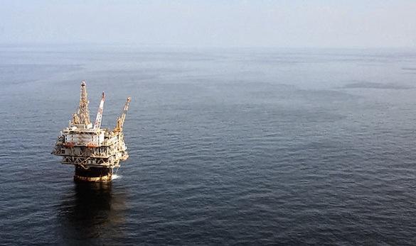 ekologické katastrofy - ropná plošina