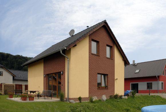 Elektřinou vytápěný dům