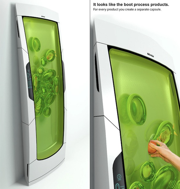 Electrolux - bílá technika - Bio Robot - chladnička/lednička