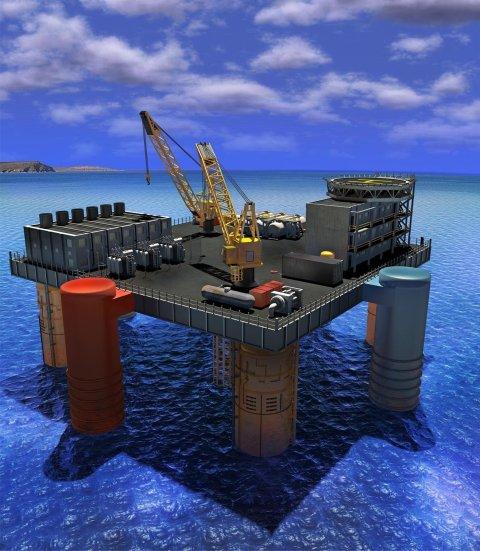 Mořská termální elektrárna OTEC