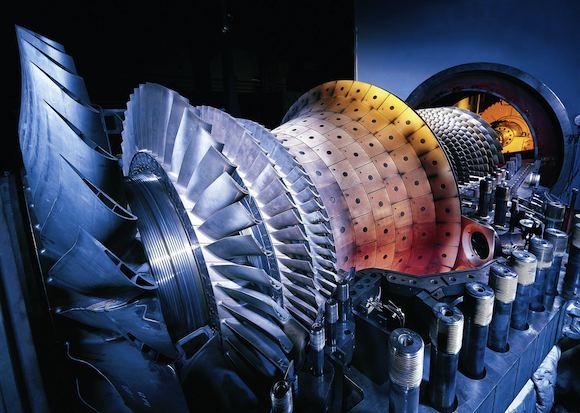 elektrárny paroplynová turbína Siemens