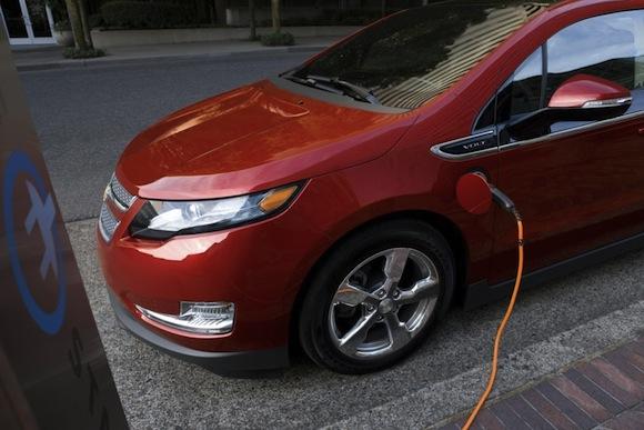 elektrická auta Chevrolet Volt