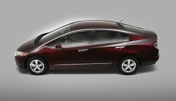 elektrická auta Honda FCX Clarity auto na vodík