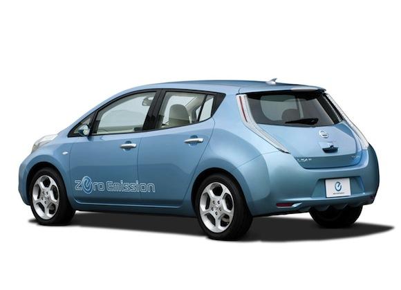 elektrická auta Nissan Leaf