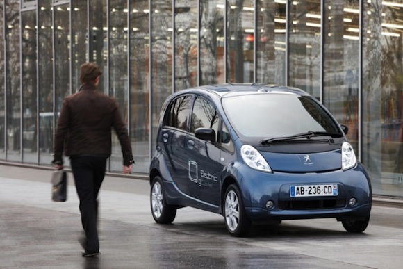 elektrická auta Peugeot iOn