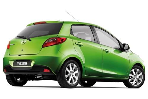 elektromobily - Mazda 2