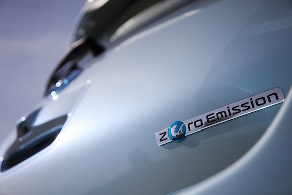 elektromobily - Nissan Leaf Zero Emission