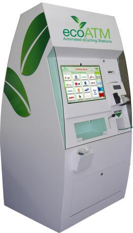 elektroodpad - ecoATM aneb ekoBankomat na staré mobily