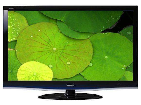 elektrospotřebiče LCD televize Sharp Aquos