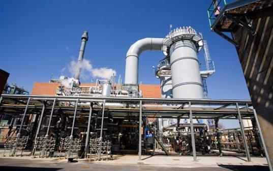 energetika - Itálie Fusina - vodíková elektrárna Enel SpA