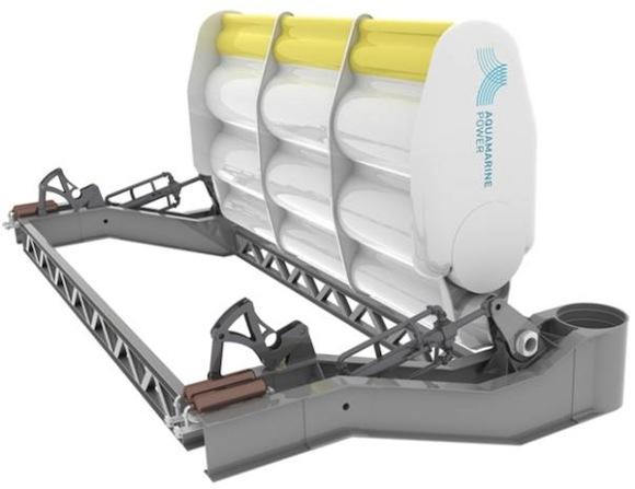 energie vln - elektrárna mořské vlny Oyster 2 Aquamarine Power