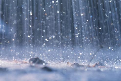 Déšť - alternativní zdroj energie