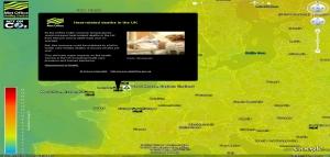 klimatické změnyv Google Earth