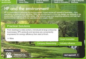 HP a životní prostředí