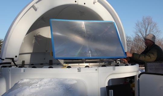 Ekologické bydlení obrázky IBM solární panel Watson Research Lab